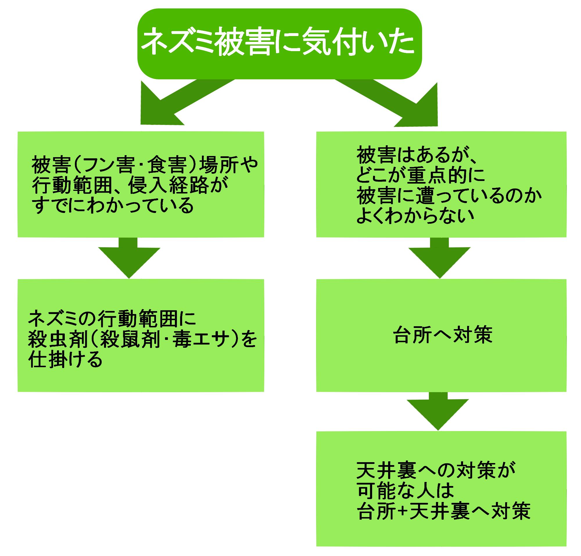ステップ(3)殺虫剤を設置